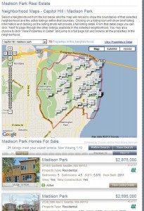 Madison Park homes for sale